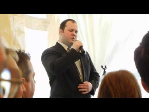 Erik Frazier covers Then at Collins-Robinson Wedding