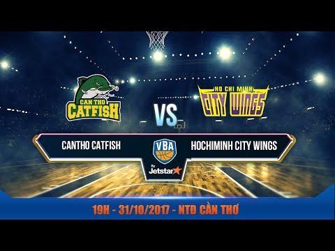 #Livestream || Game 42: Cantho Catfish vs Hochiminh City Wings  31/10 | VBA 2017 by Jetstar