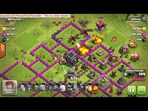 How to deploy troops in Clash of Clan