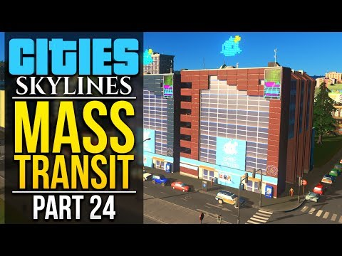 Cities: Skylines Mass Transit | PART 24 | TOURISM & LEISURE