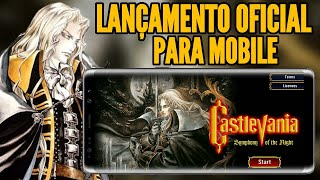 SAIU NA PLAY STORE! CASTLEVANIA SIMPHONY OF THE NIGHT MOBILE OFICIAL | ANDROID E IOS | GAMEPLAY BR
