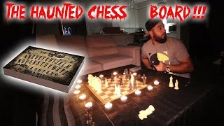 THE HAUNTED CHESS BOARD! MORE HAUNTED THEN A OUIJA BOARD // TOM THE GHOST IS BACK!!
