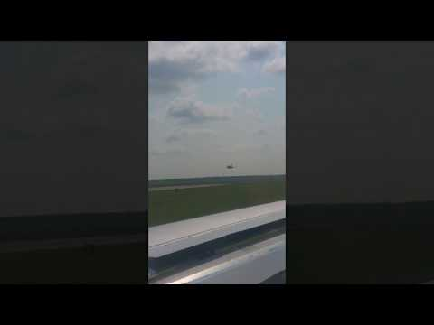 OMG Fighter jets SCRAMBLE  at civilian airport.