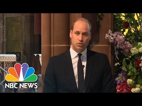 Prince William Honors Victims At One-Year Anniversary Of Ariana Grande Concert Attack | NBC News