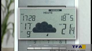 Produktvorstellung: Funk-Wetterstation TFA GALILEO (Artnr.: 830450)