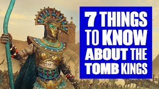 7 things to know about the Tomb Kings in Total War: Warhammer 2