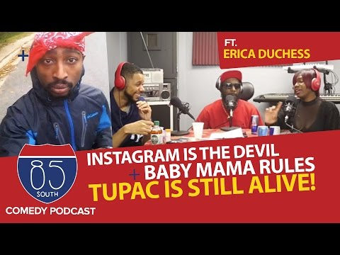 Instagram Is The Devil ft.The Trap Queen Erica Duchess | Tupac Hall of Fame? | Cam Newton