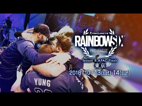 【Day1】レインボーシックス Pro League Season 8 APAC Finals - in TOKYO