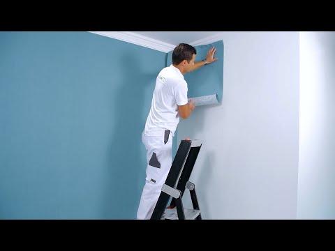 How to hang non-woven wallpaper