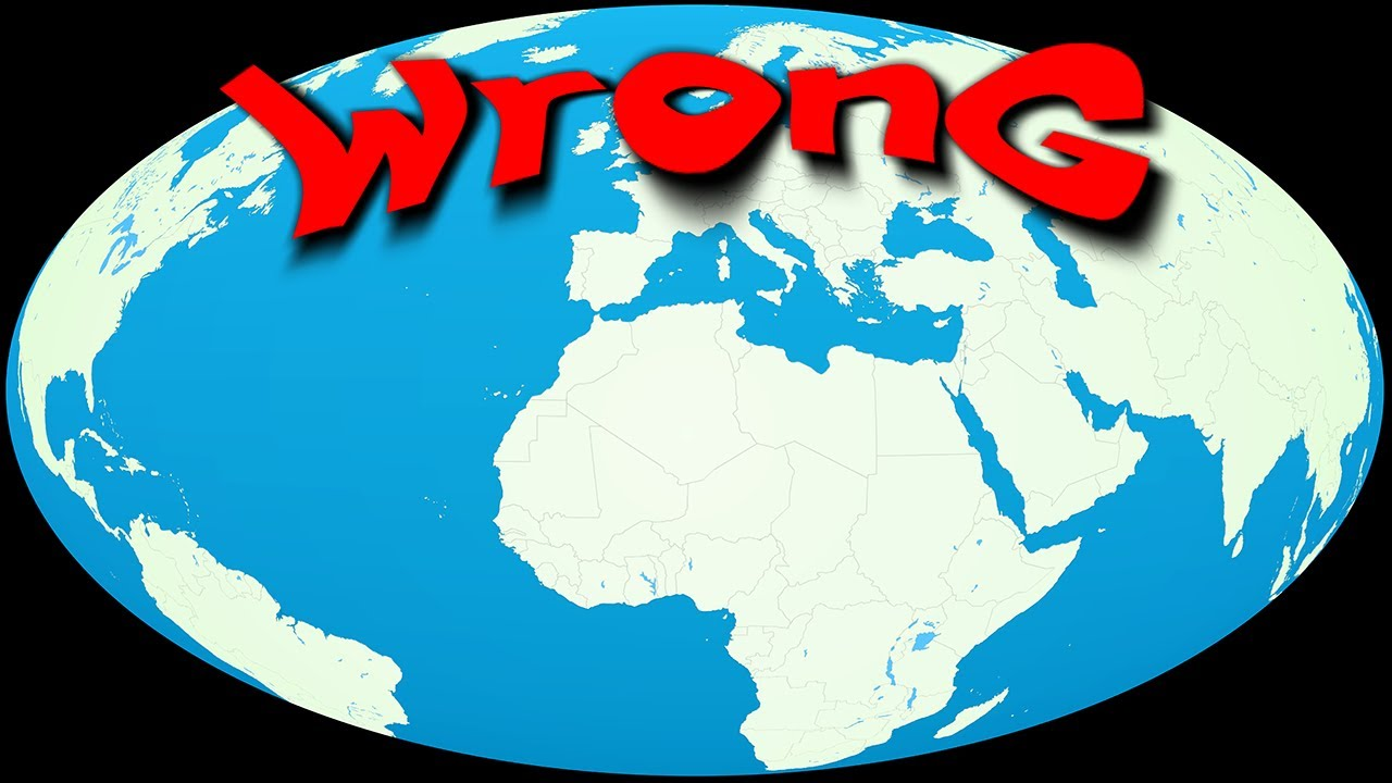 Funny world map illusions whats wrong with this world youtube funny world map illusions whats wrong with this world gumiabroncs Choice Image