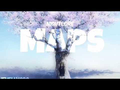 ♡ Maroon 5 Maps - Nightcore ♡
