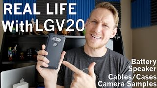 lg v20 real life review camera samples speaker comparison cases more