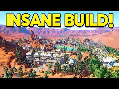 Planet Coaster : The BEST Western Theme Park!