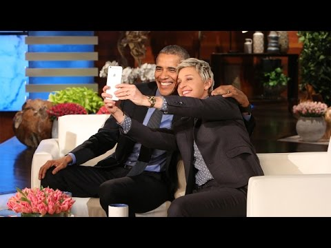 Ellen & POTUS' Commercial Break Fun