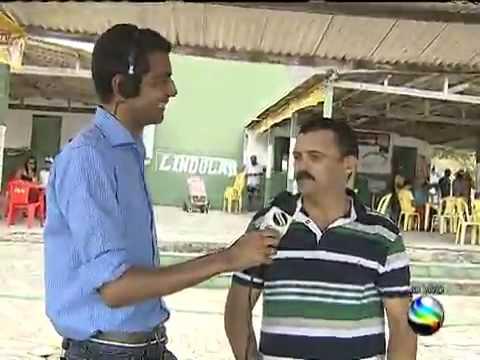 """Reportagem sobre a Barragem de Campo do Brito no programa """"Pé na Estrada"""" da TV Sergipe (2014)"""