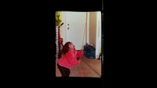 Double pulley training for toddler