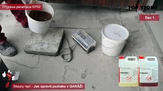 Jak opravit podlahu v garáži