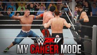 """WWE 2K17 My Career Mode - Ep. 6 - """"3 ON 1!! HOW IS THIS FAIR?!!"""" [WWE 2K17 MyCareer Part 6]"""