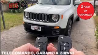 Realizzazione di una copia chiave Jeep Renegade