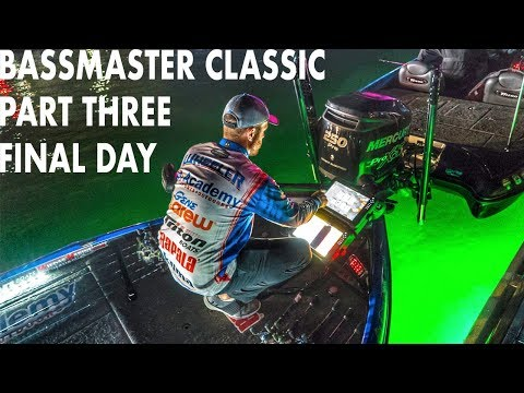 Bassmaster Classic: Part Three | FINAL DAY 7th Place | WheelerFishing Episode 6