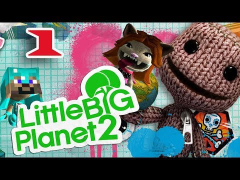 ч.01 Прохождение Little Big Planet 2 - Введение
