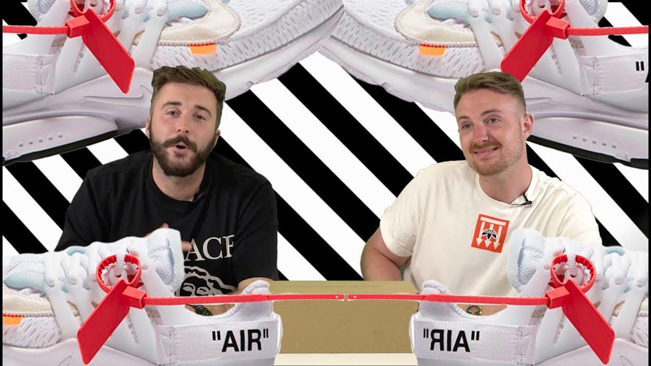 3e2b166c0c5 OFF-WHITE Nike Presto Triple White Unboxing