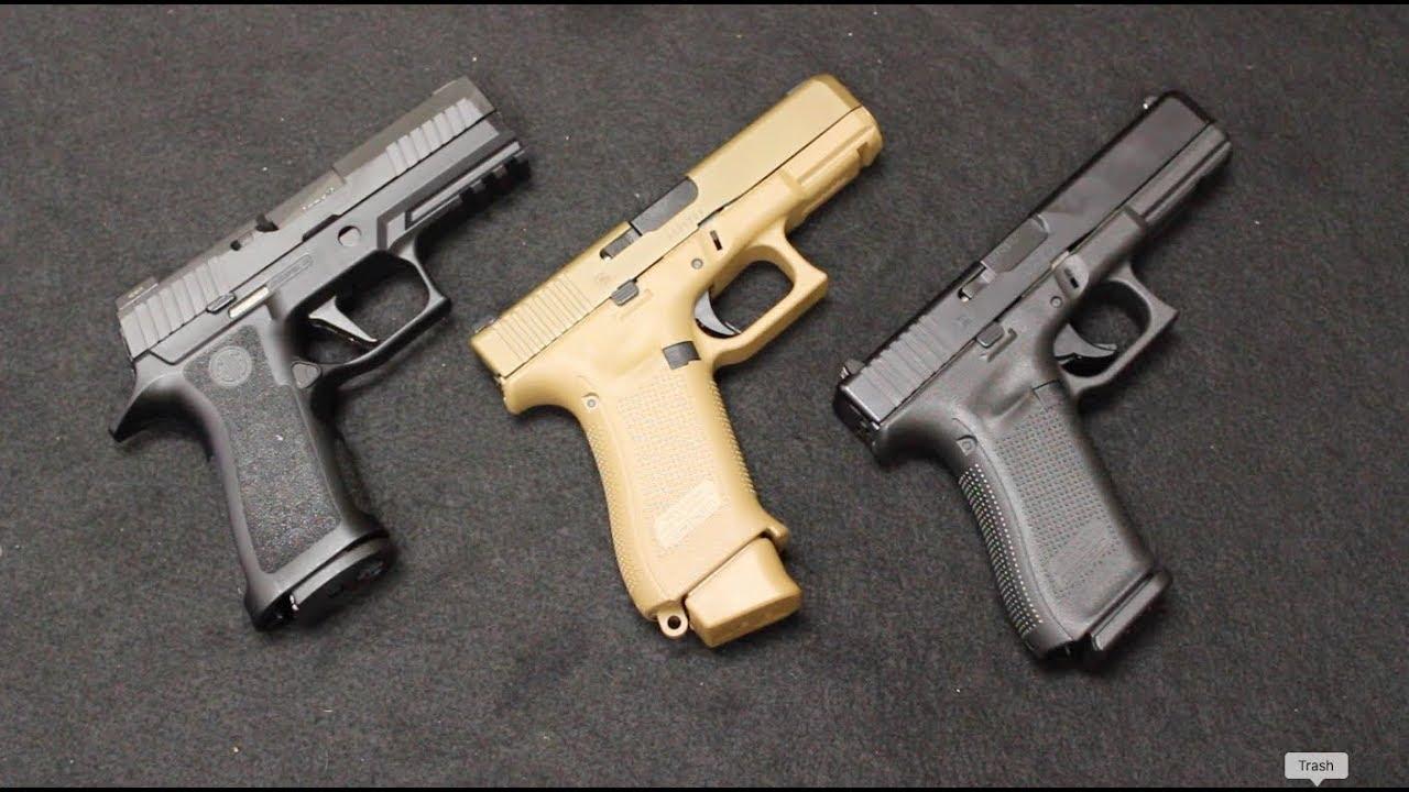 Glock 19X vs Sig P320 X Carry vs Glock 17 Gen 5