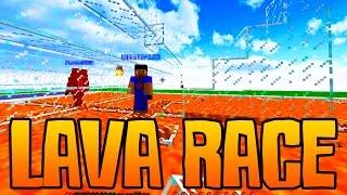 Minecraft EPIC LAVA RACE #1