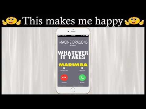 Best iphone Ringtone of Imagine Dragons's Whatever It Takes - Marimba Remix Ringtone