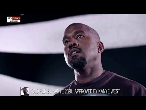 Kanye West releases first presidential campaign ad