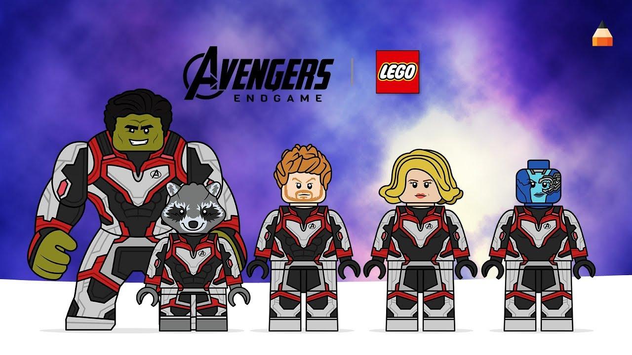 Avengers Endgame Drawing Lego Minifiures   part 18   LEGO ...
