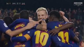 Video Barcelona vs Girona 6 1   All Goals & Extended Highlights   La Liga 24 02 2018 HD   YouTube download MP3, 3GP, MP4, WEBM, AVI, FLV November 2018