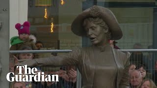 Emmeline Pankhurst statue unveiled in Manchester