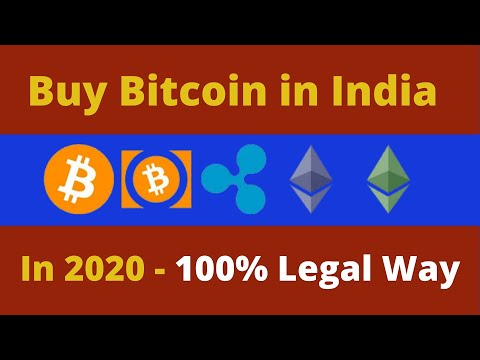 How To Buy Cryptocurrency In India In 2020 LEGALLY
