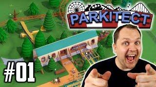 Ich entdecke die Möglichkeiten :)   Parkitect Let's Play #01