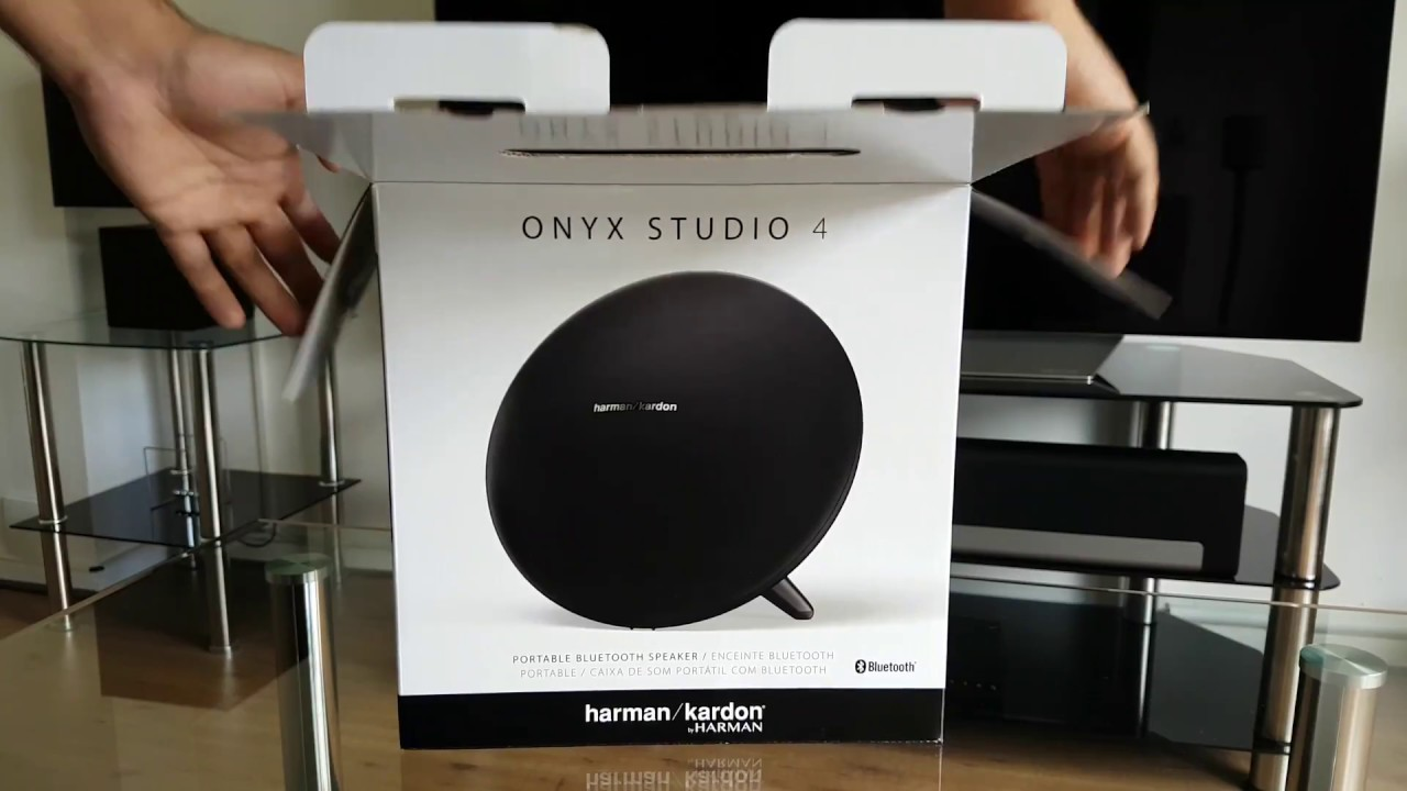Harman Kardon Onyx Studio 4 Unboxing / Sound Test