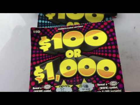 WOW!!HOLY $%^%!!!!! GREAT WINNER PA LOTTERY TICKET!!