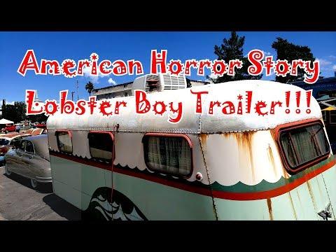 Bisbee Car Show & Original American Horror Story Lobster Boy Vintage Trailer Tour