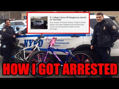 I Got ARRESTED for RIDING A BIKE