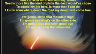 Reba McEntire Climb That Mountain High