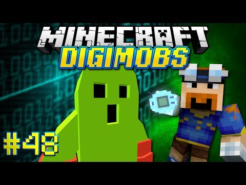 Minecraft: DIGIMOBS EP. 48 - Togemon and the Jungle Zone!