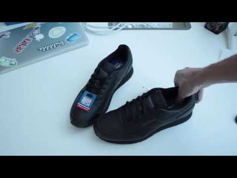 Reebok Royal Glide Black - YouTube 7b2096ba85