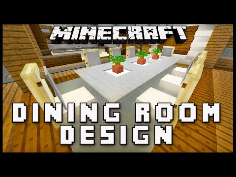 How to make dining room furniture in minecraft scarla for Minecraft dining room designs