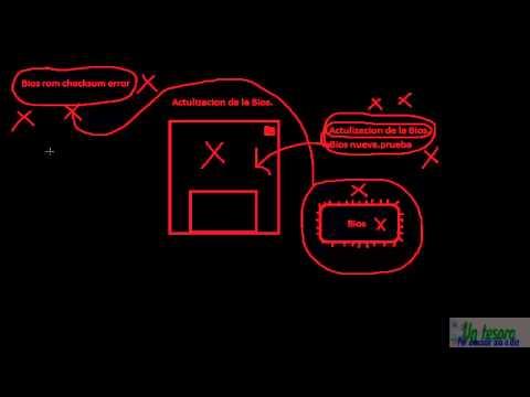 Bios rom checksum error (Solucion)
