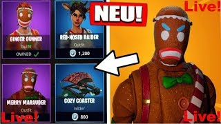 🔴 Fortnite 🔴OMG OF Gingerbread SKINN IZZ DA!🔴GOOD MORNING! Does YOU BUY?🔴 gamble with friends🔴