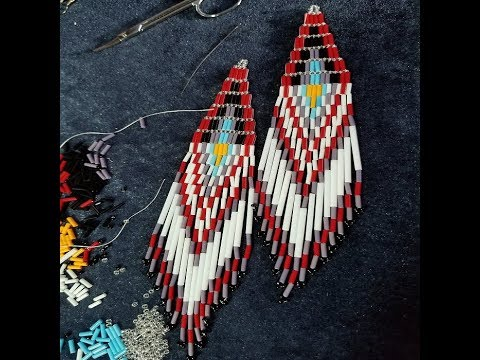 Bead Therapy: Making Beadwork Statement Earrings