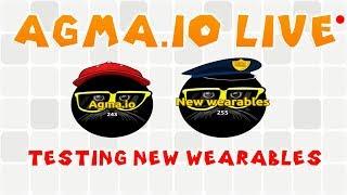 Agma.io Livestream - New Wearables!