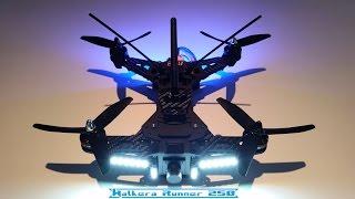 custom modified walkera runner 250 race drone los hover test d