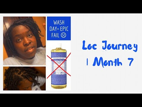 Washing Locs With Dr. Bronner's FAIL | How I Fixed EVERYTHING!!!