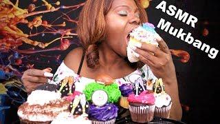 Cup Cake Mukbang ASMR Eating Sounds | Tingling Triggers